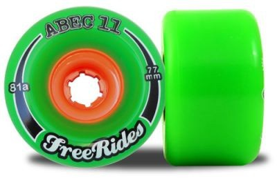 ABEC 11 Classic FreeRide 81A 77mm Rollen (4 Stück)