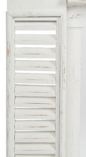 Casa Padrino Landhausstil Shabby Chic Kaminumrandung Antik Weiß 115 x 23 x H. 100 cm - Handgefertigte dekorative Kaminumrandung mit Verzierungen - Vorschau 5
