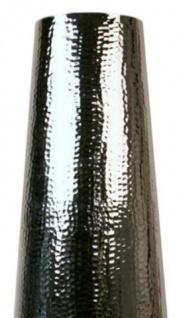 Casa Padrino Aluminium Vase Silber Ø 30 x H. 80 cm - Luxus Deko Vase - Vorschau 2