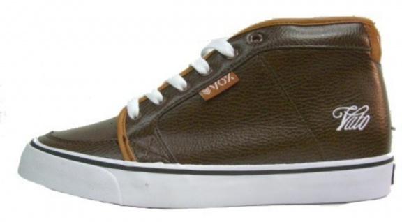 Vox Skateboard Schuhe Vato Vato Schuhe Brown Leather 9fd96f