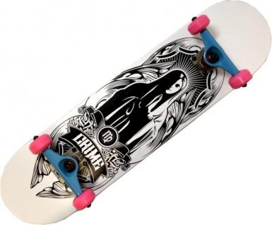 Crime Skateboard Komplettboard Maria 7.625 inch mit Venture Achsen