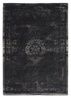 Casa Padrino Luxus Teppich Schwarz 280 x 360 cm - Luxus Wohnzimmer Möbel