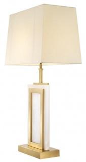 Casa Padrino Luxus Tischleuchte 23, 5 x 41 x H. 77, 5 cm - Designer Lampe - Vorschau 2