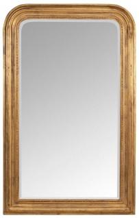 Casa Padrino Barock Spiegel Antik Gold 100 x 5 x H. 161 cm - Eleganter Wandspiegel im Barockstil - Antik Stil Garderoben Spiegel - Wohnzimmer Spiegel - Barock Möbel