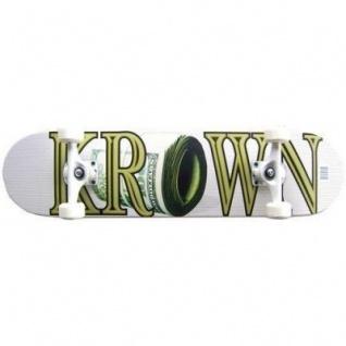 Krown Pro Money Roll Komplettboard Skateboard 8.0 inch
