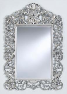Casa Padrino Barock Spiegel Silber 105 x H. 154 cm - Edel & Prunkvoll