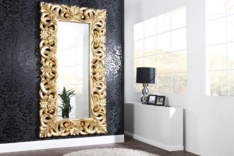 Casa Padrino Barock Wandspiegel Gold - Limited Edition Barock Wandspiegel Gold Antik, Höhe 76 cm, Breite 76 cm, Edel & Prunkvoll