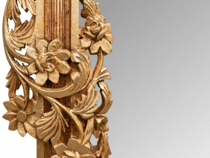 Casa Padrino Barock Spiegel / Wandspiegel Gold 122 x H. 224 cm - Barockstil Möbel - Vorschau 2