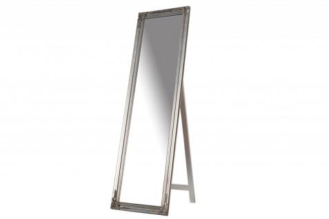Casa Padrino Luxus Standspiegel 160 cm - Designer Spiegel - Silber