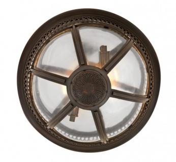 Casa Padrino Luxus Deckenleuchte Bronze Durchmesser 45 x H 30 cm Antik Stil - Möbel Lüster Deckenlampe - Vorschau 4