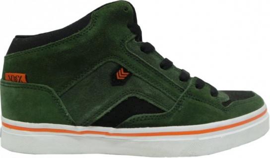 Vox Skateboard Schuhe Push Oyola Olive Orange Black