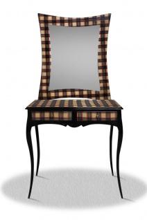 Casa Padrino Spiegelkonsole mit 2 Schubladen 90 x 40 x H. 200 cm - Limited Edition