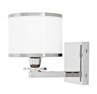 Casa Padrino Luxus Wandleuchte Nickel - Luxury Collection