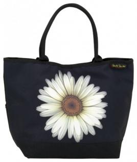 Designer Shoppertasche mit einzelner Margerite- Elegante Tasche - Luxus Design