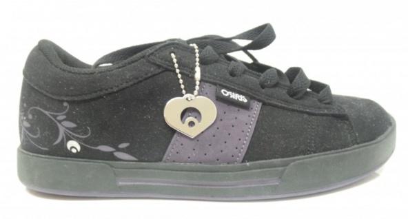 Osiris Skateboard Schuhe Volley Girls Black/Purple Leaves