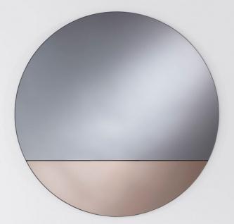 Casa Padrino Luxus Spiegel Bronze Ø 58 cm - Designermöbel & Accessoires