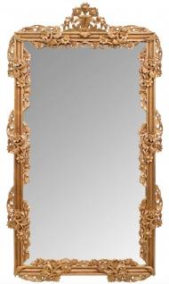 Casa Padrino Barock Spiegel / Wandspiegel Gold 122 x H. 224 cm - Barockstil Möbel