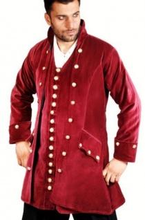 Captain England Piraten Mantel - Red