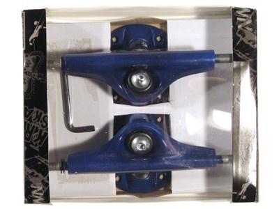 Krown Skateboard Achsen Set 5.0 blau (2 Achsen)