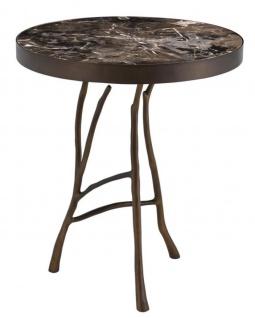 Casa Padrino Designer Beistelltisch 50 x H. 58 cm - Luxus Hotel Tisch