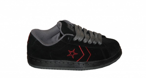 Converse Skateboard Schuhe Ev Pro Ox Black / Charcoal / Red Sneakers Shoes