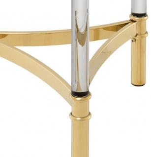 Casa Padrino Beistelltisch / Blumentisch Gold Ø 41 x H. 90, 5 cm - Luxus Qualität - Vorschau 4