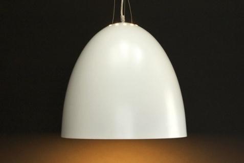 Designer Pendelleuchte aus lackiertem Aluminium, Weiss, Leuchte Lampe - Vorschau 2