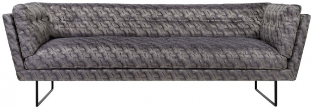 Casa Padrino Luxus Wohnzimmer Sofa Bronze / Braun / Schwarz 230 x 87 x H. 78 cm - Wohnzimmermöbel