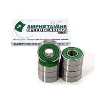 Amphetamine ABEC-7 Skateboard Kugellager / 8-Ball Bearings - Bearing Set