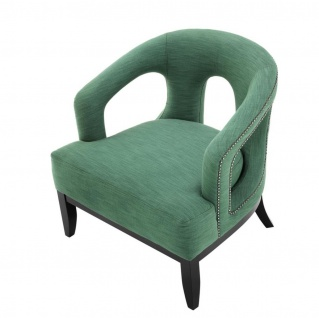 Casa Padrino Luxus Designer Sessel - Hotel Sessel Möbel - Vorschau 4