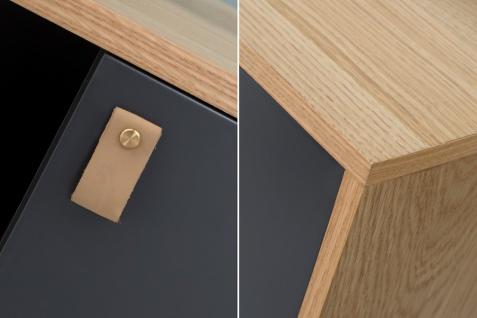 Casa Padrino Designer Kommode - Sideboard 150cm x 40cm x H.75cm - Konsolen Tisch - Hotel Möbel - Vorschau 4