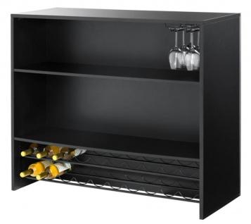 Casa Padrino Designer Bar 120 x 48 x H. 104, 5 cm - Luxus Barschrank - Vorschau 4