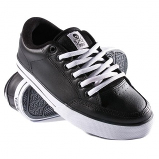 Circa Skateboard Schuhe ALK50 Black/White Sneakers Shoes