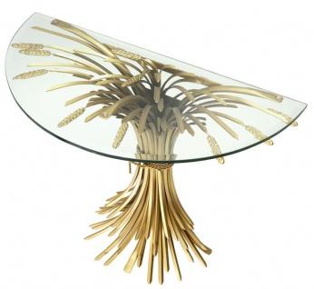 Casa Padrino Luxus Konsole Antik Gold 90 x 45 x H. 76 cm - Designer Konsolentisch - Vorschau 2