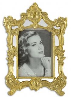 Casa Padrino Barock Bilderrahmen Gold 21, 4 x H. 31, 2 cm - Prunkvoller Bilderrahmen im Barockstil