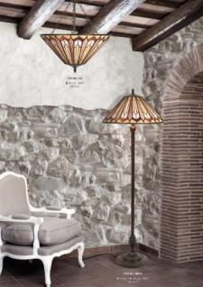 Tiffany Stehleuchte Höhe 170 cm, Durchmesser 52 cm Leuchte Lampe