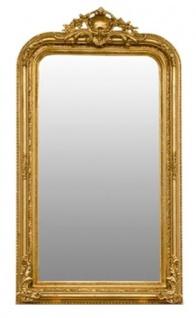 Casa Padrino Barock Spiegel Gold 86 x H. 155 cm - Wohnzimmermöbel im Barockstil