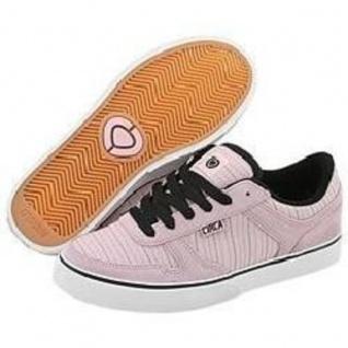 Circa Mädels Skateboard Schuhe 4 Track W-- Pink / Schwarz