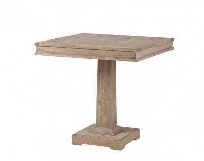 Casa Padrino Designer Luxus Eichenholz Esstisch 80 x 80 x H. 78 cm - Esszimmer Tisch
