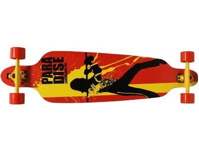 Paradise Longboard Skateboard Volume 2 DropTrough Complete
