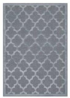 Casa Padrino Luxus Teppich Silber - Verschiedene Größen - Wohnzimmer Teppich mit Glanzgarn - Luxus Kollektion
