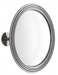 Casa Padrino Spiegel / Konvexspiegel Silber Ø 35 cm - Luxus Kollektion