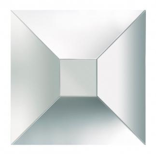 Casa Padrino Designer Spiegel 90 x 10 x H. 90 cm - Luxus Qualität