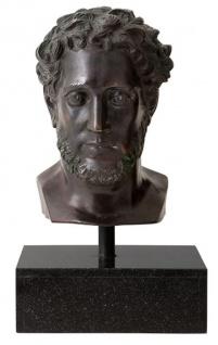 Casa Padrino Designer Steinskulptur Antik Bronze - Luxus Kollektion