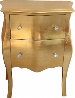Casa Padrino Barock Kommode Gold Antik Look H 78 Cm B 62 Cm T 36 Cm