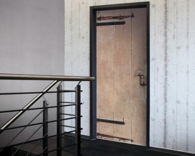 Tür 2.0 XXL Wallpaper für Türen 20005 Gummersbach - selbstklebend- Blickfang für Ihr zu Hause - Tür Aufkleber Tapete Fototapete FotoTür 2.0 XXL Vintage Antik Stil Retro Wallpaper Fototapete - Vorschau 2