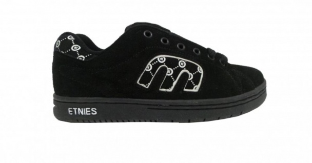 Etnies Skateboard Schuhe Callicut Black/White Hohe Qualität