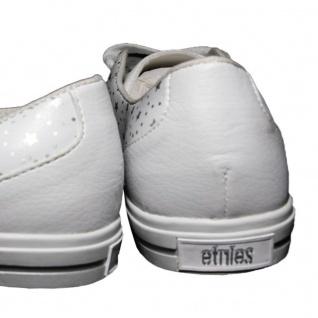 Etnies Skateboard Schuhe Plimsy White/Silver - Vorschau 3