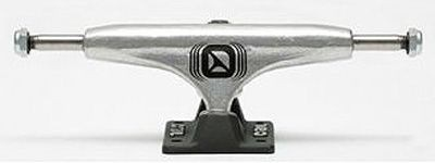 Crail Skateboard Achsen Set 129 LOW LIGHT silber/schwarz (2 Achsen)
