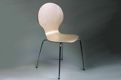 Casa Padrino Designer Stuhl Form Ahorn 1088 - Esszimmer Stuhl - Bankett Stuhl